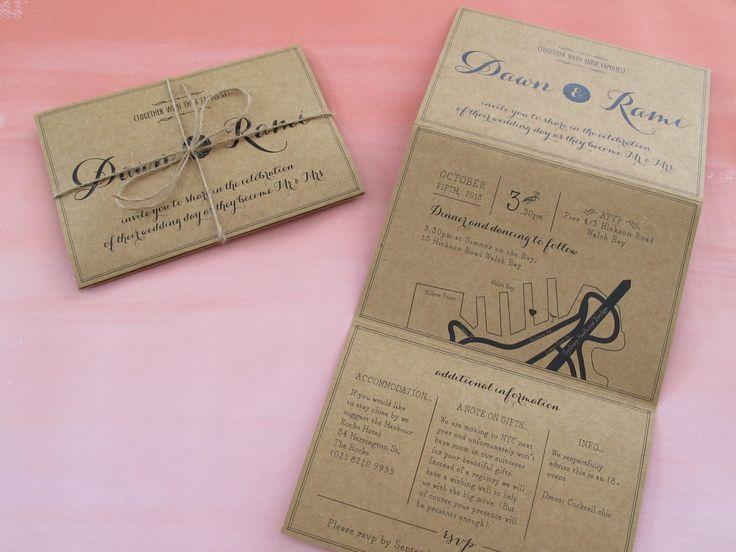Wedding invitations.  The Paper Mint || thepapermint.com.au