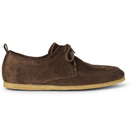 #Burberry Prorsum Suede Derby Shoes