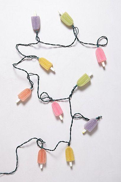 Popsicle String Lights - anthropologie.com