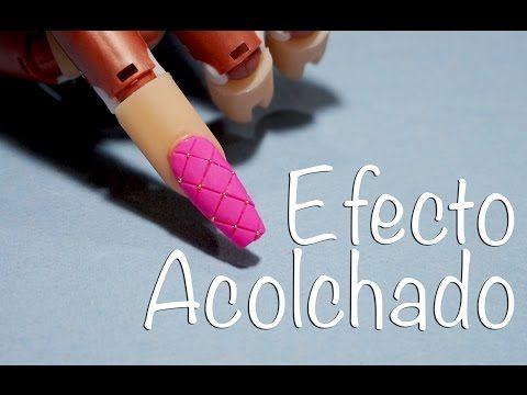 Uñas efecto azúcar | Nailart Sugar Effect| Manicura24 (parte 1) - YouTube