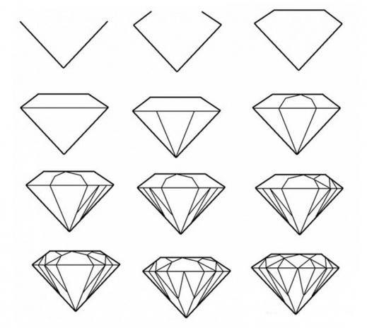 изготовления картинки кристаллов поэтапно дед
