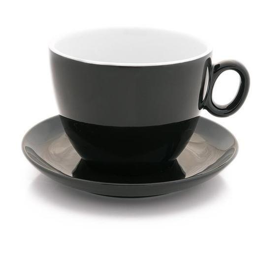 Inker black latte bowl 17 oz