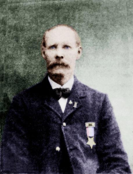 William Spooner of Hodgkin. CO H 20TH MAINE INFANTRY VET