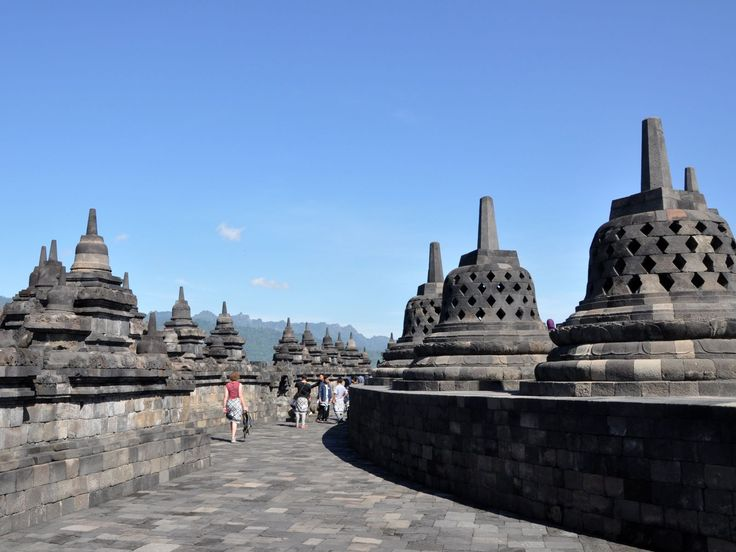 Naar Yogyakarta en Borobodur (Centraal Java) kan goed met kinderen.