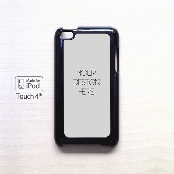 YOUR DESIGN HERE Custom Image cover case for iPod Touch 4 5 Case
