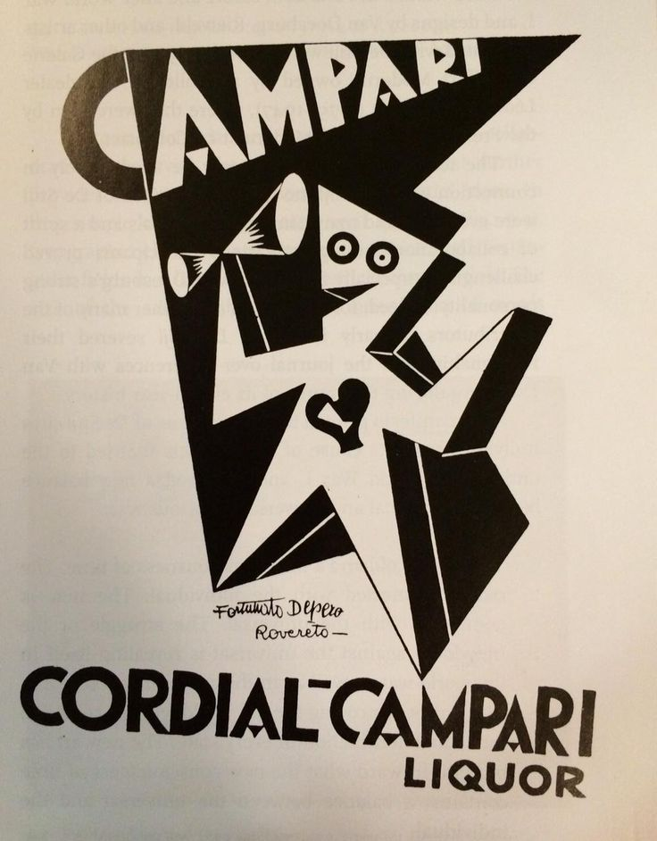 Estremamente 53 best Fortunato Depero - Campari images on Pinterest | Posters  DV23