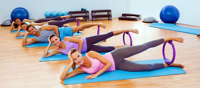 8 easy pilates ring workouts for women