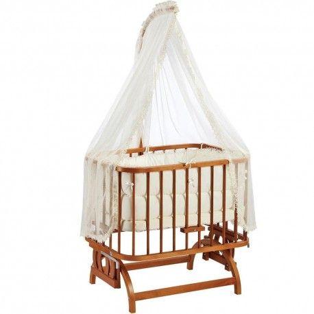 Baby Tech 102 Anne Yanı Doğal Beşik