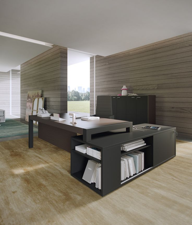 PLANO executive desk by Prof Office