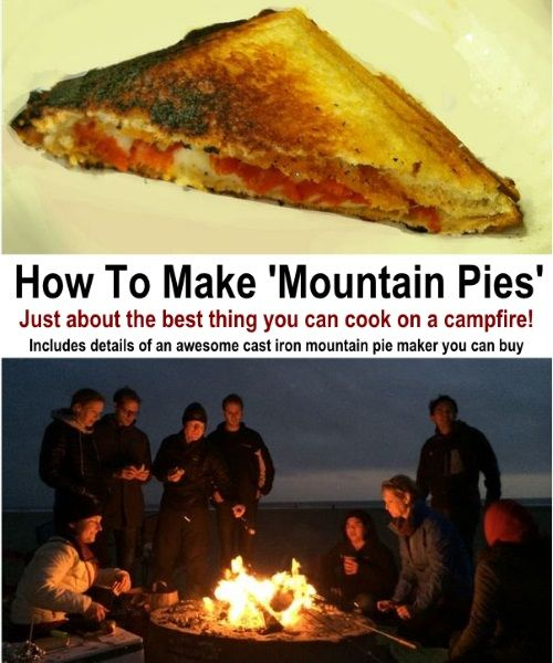 How To Make Mountain Pies (The Best Campfire Food There is!)