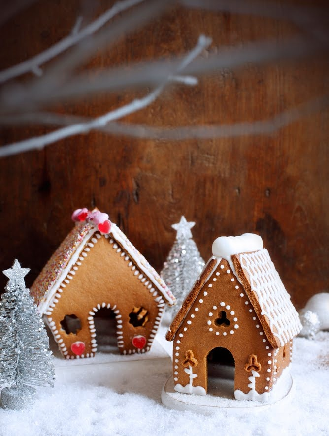 maison en pain d'épices / gingerbread houses