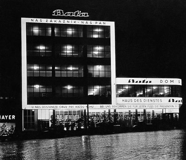 Bata store, Vladimír Karfík, Bratislava, Czechoslovakia 1930