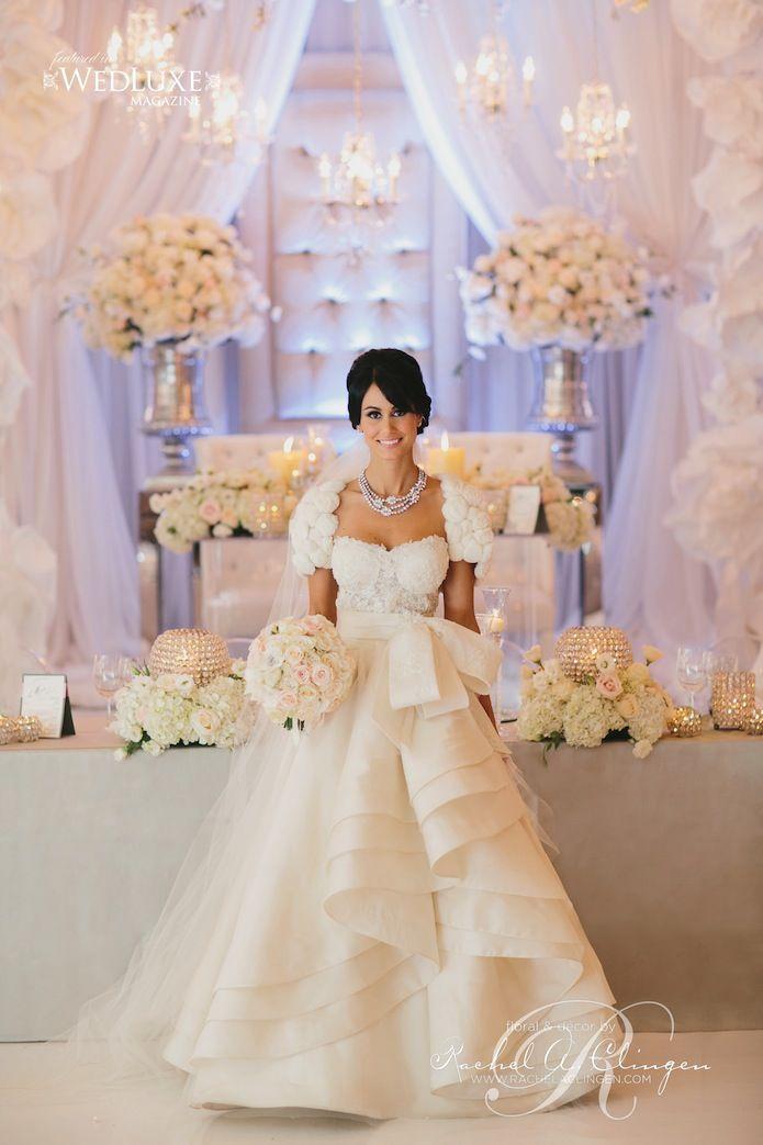 Casamento luxuoso - decoração branca
