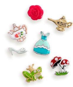"Origami Owl Custom Jewelry - Charms, Lockets & Bracelets. Special Modern Day Fairy Tale ""seasonal exclusive"" charms for Fall.   #origamiowl #genielamp #teapot #ballgown #frogprince #mushroom"