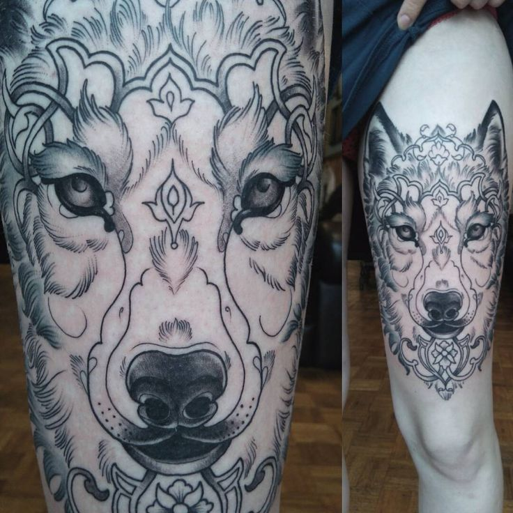 25+ Best Ideas About Wolf Face Tattoo On Pinterest
