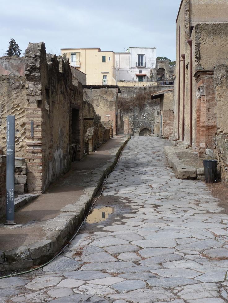 Herculaneum: The Buried City