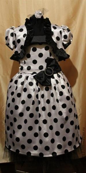 Платье для девочки москва горошек