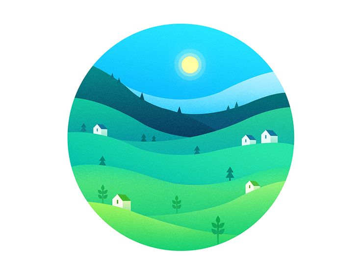 Spring & Summer https://dribbble.com/shots/2521452- #digitalart #graphics #graphicdesign #illustration #icon #dribbble