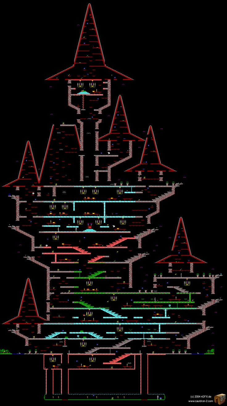 Cauldron Commodore Pixel Map The Most Blister Inducing - The great cauldron us map