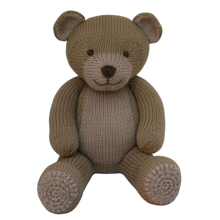 This adorable bear pattern is part of the Knitables 'Knit a Teddy' collection. The 'Knit a Teddy' collection contains a selection of adorable animal teddies, cute outfits which are designed to fit all the different animals and fun accessories. Simply mix and match the teddies, outfits and accessories to create your perfect knitted teddy for that someone special!The pattern has clear row by row instructions and lots of photographs to help you along the way. You will need to be able to knit…