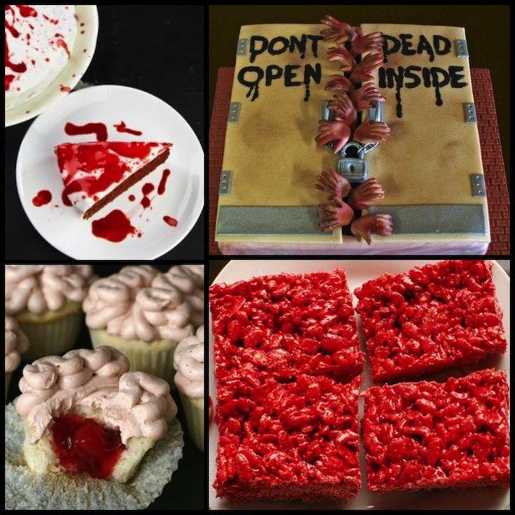 Walking Dead Party dessert ideas