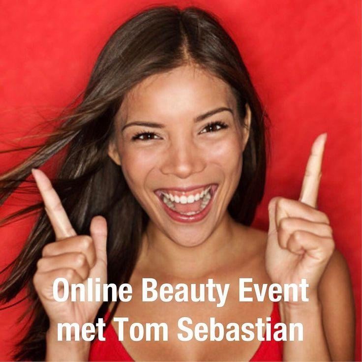 ONLINE BEAUTY EVENT met Tom Sebastian. Doe jij al mee? Aanstaande dinsdag 21 maart om 19.30 uur leer ik je in 5 simpele/effectieve stappen hoe je er prachtig uit kan zien. Je kan je aanmelden via de link in mijn bio.  Tag je vriendinnen hieronder. En met z'n allen maken we er een gezellig event van!  Mocht je vragen hebben plaats ze dan vast onderaan dit bericht. #beautyevent #beautyexpert #webinar #enjoythemoment #makeup #beauty #beautiful #tomsebastian