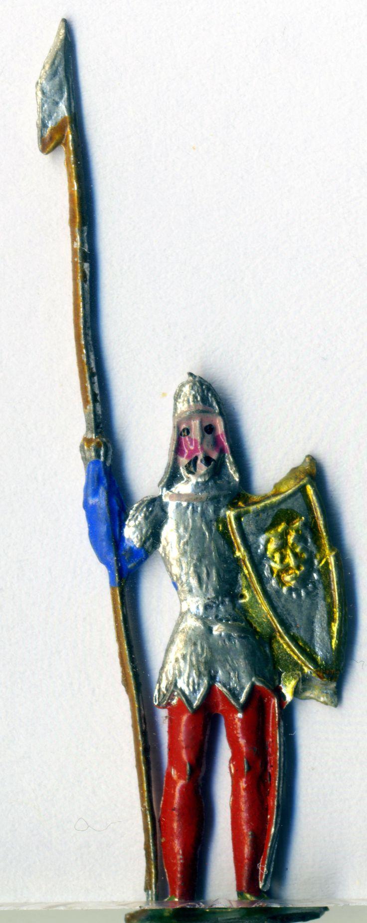 Fusssoldat, Zinn, 1890, Spielzeug