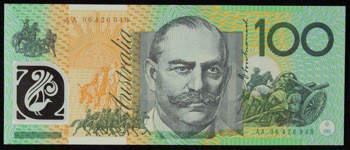 Pending Realisations Banknotes Decimal Bank Notes Australian Money Dollar Banknote