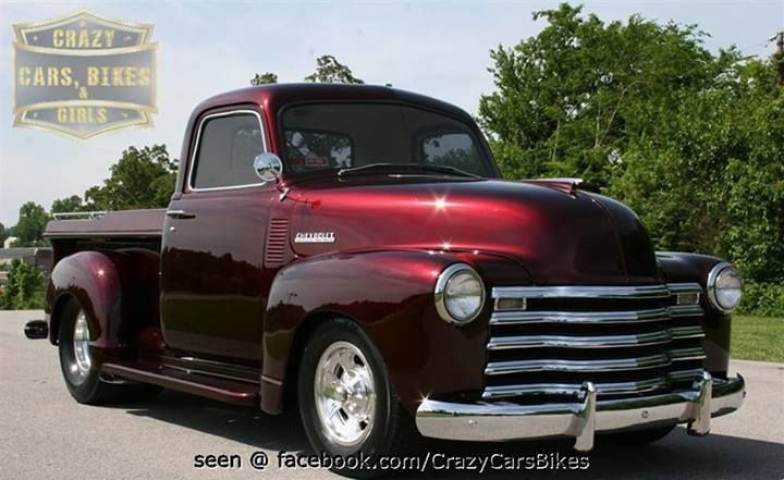 1948 Chevy Truck...Brought to you by #HouseofInsurance for #CarInsuranceinEugene