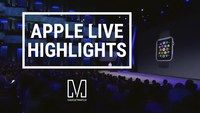 6 Highlights from Apple Live 2014 Apple picked the Flint Center, the historic site where the original Macintosh was launched to unveil the new iPhone 6, iPhone 6 plus, a new payment system called Apple Pay and the Apple Watch. In this video we round up 6 highlights from Apple Live 2014.