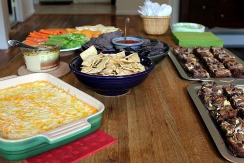 17 best images about housewarming parties on pinterest for Housewarming party food menu