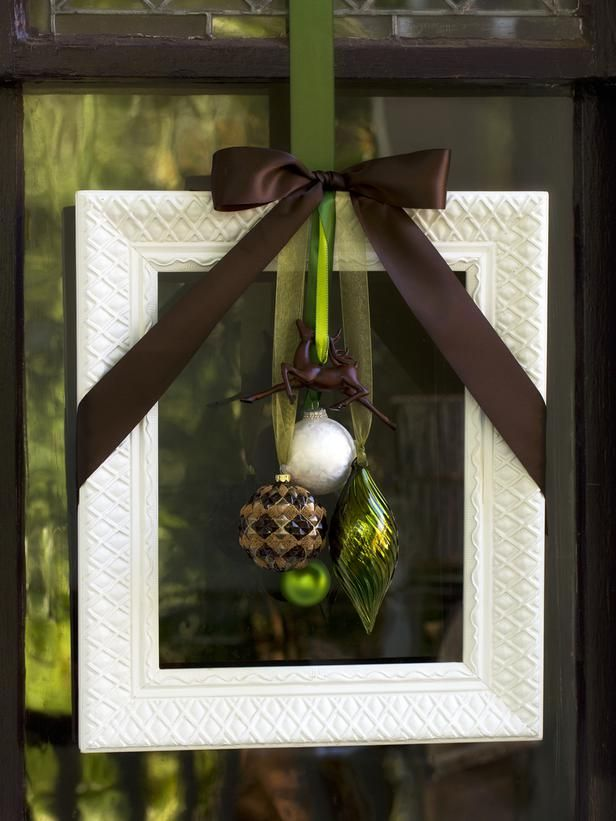 Creative Holiday Decorations for the Front Door: 11 Ideas From HGTV www.hgtv.com/...