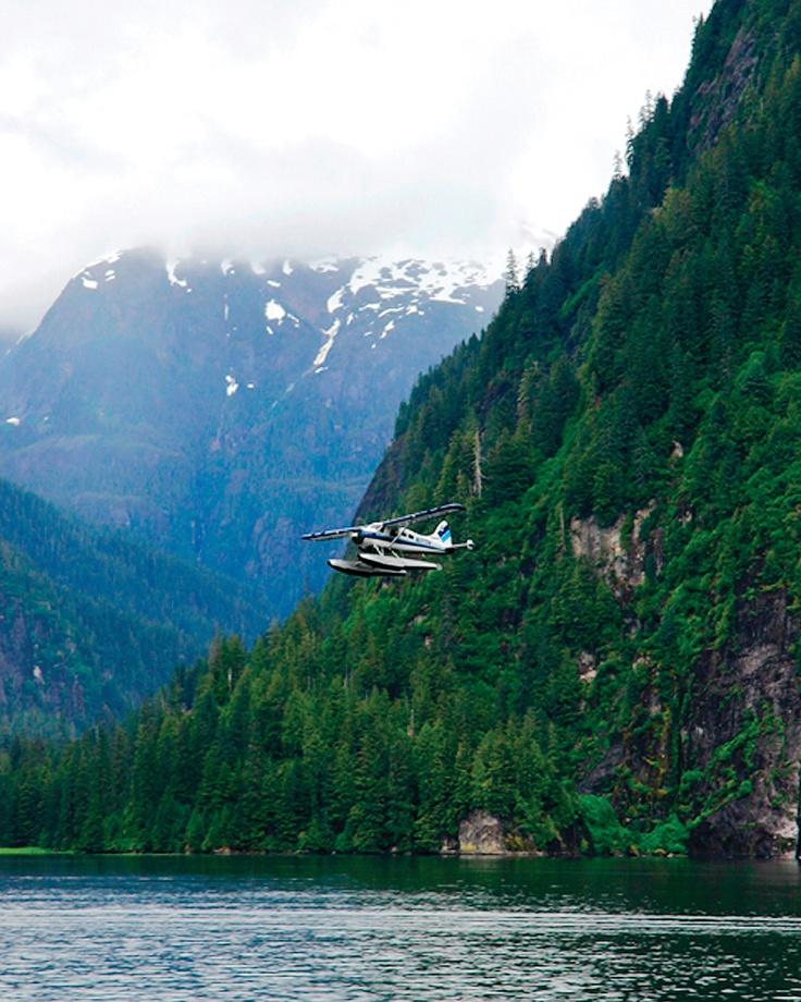 Misty Fjords- best seen by float plane