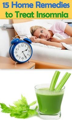 15 Home Remedies for Treating Insomnia