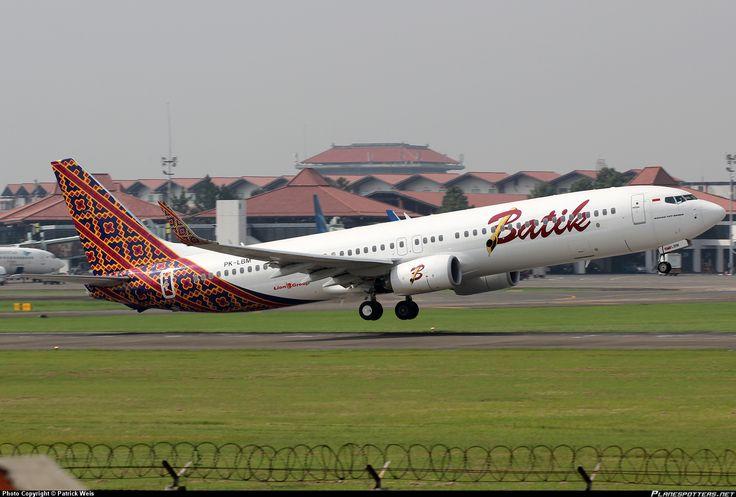 Batik Air | PK-LBM Batik Air Boeing 737-9GP(ER)(WL) taken 21. Jul 2013 at Jakarta ...
