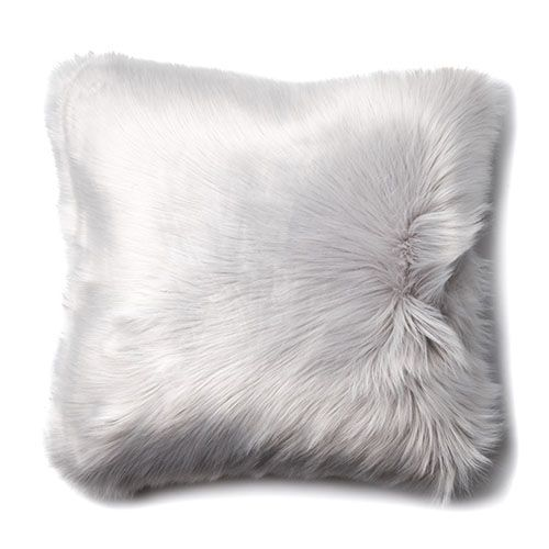 Alpine Fur Moonrock Cushion