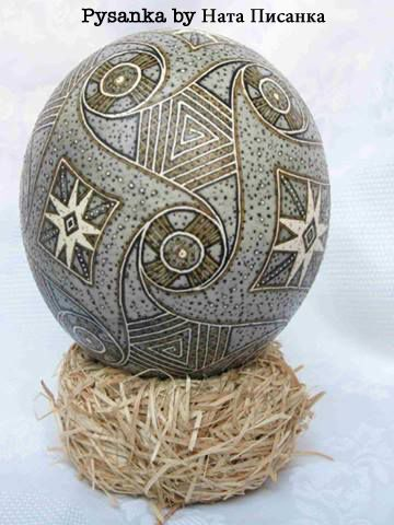 Picture of egg that has this pattern measured and copied for you to download!