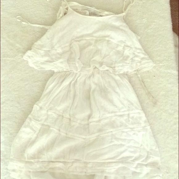 White dress Flowy, backless white dress Lovers + Friends Dresses Mini