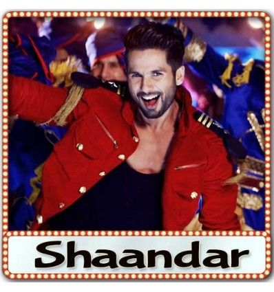 MP3 karaoke track Shaam Shaandar from Movie Shaandar and is sung by Amit Trivedi and composed by Amit Trivedi