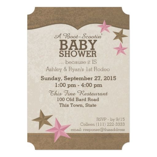 394 best images about western baby shower invitations on pinterest, Baby shower invitations