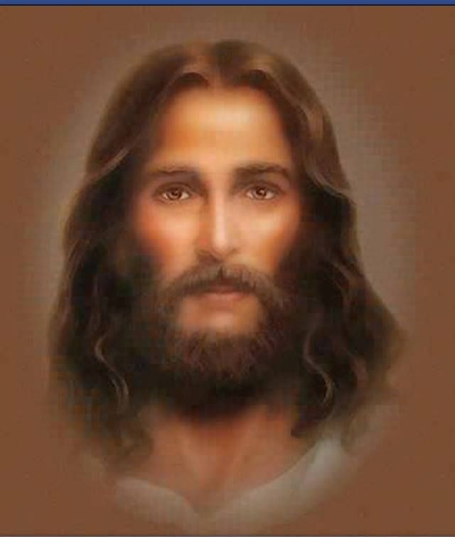 I love this picture of Jesus. Look at those beautiful eyes & see the love He has for us all <3