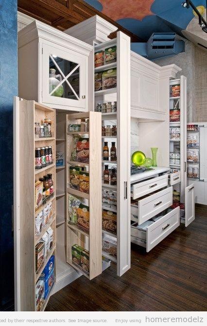 Nice the disparity:Multifunction Kitchen Storage Cabinet  Big Kitchen Storage Cabinet Designs by lissandra.villanoYES! CM