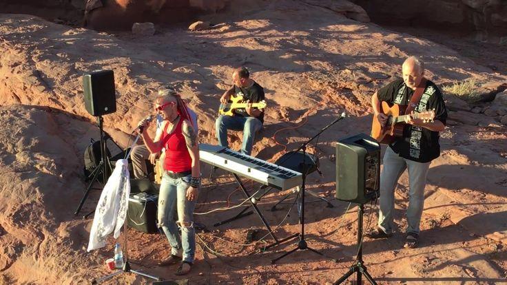 Sunset Concert in Jordan's Wadirum Desert