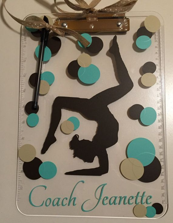 Gymnastics Coach Gift Personalized Gymnastics by ArtsyWallsAndMore