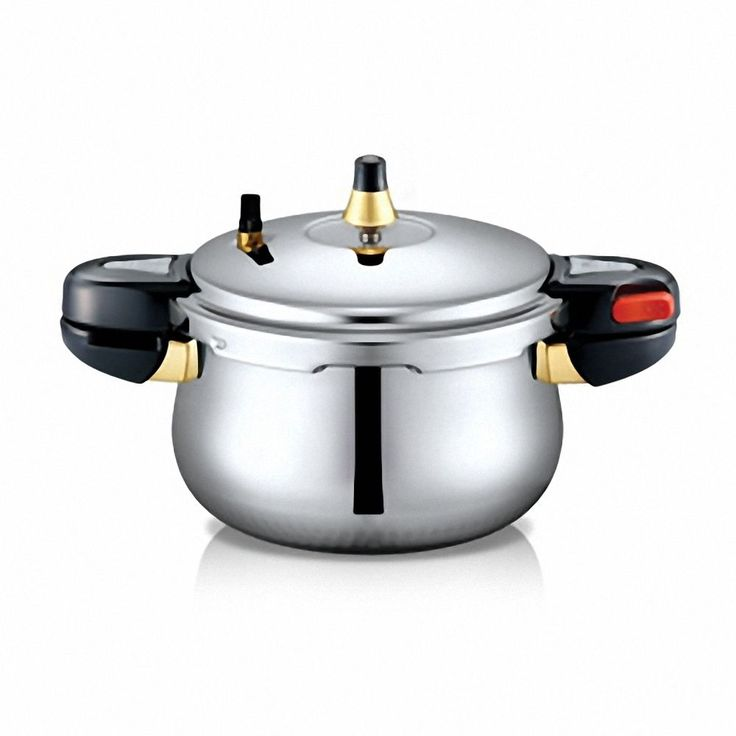 PN Pressure Cooker Hi Clad IH Hive Stainless Steel Pot 4.5L 8 Persons Induction  #PN