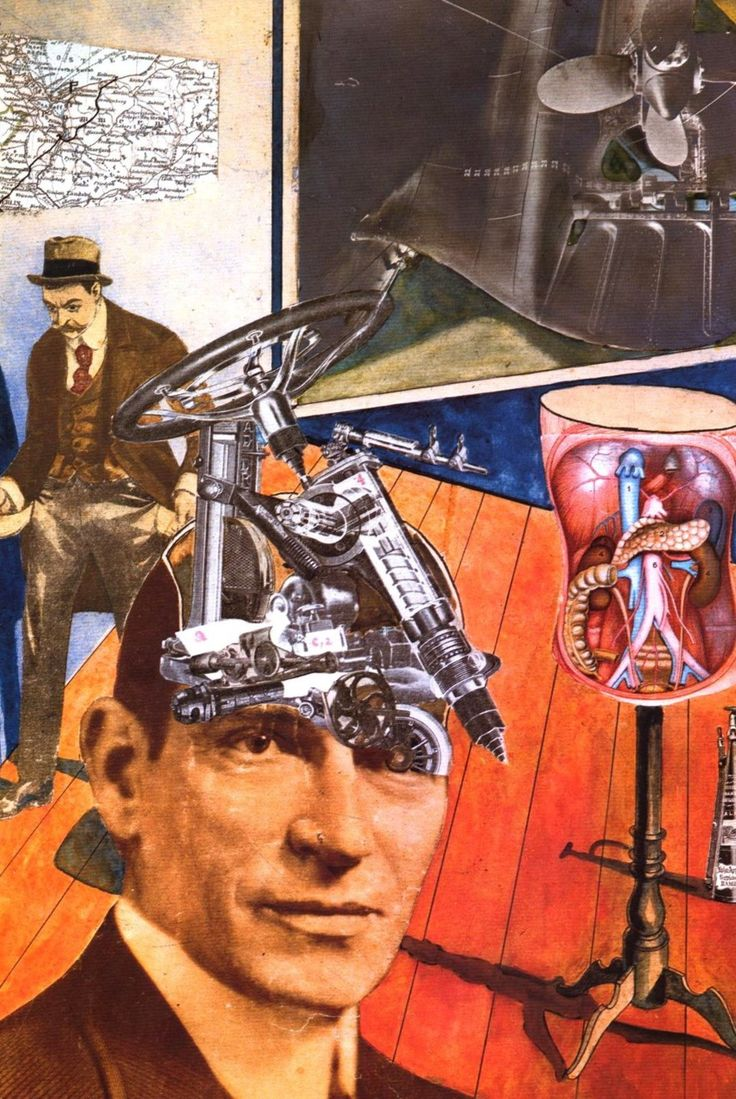 Raoul Hausmann, Tatlin at Home, 1920