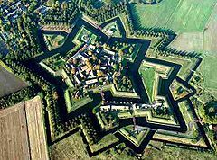 Star fort in Netherlands (Bourtange fortification)