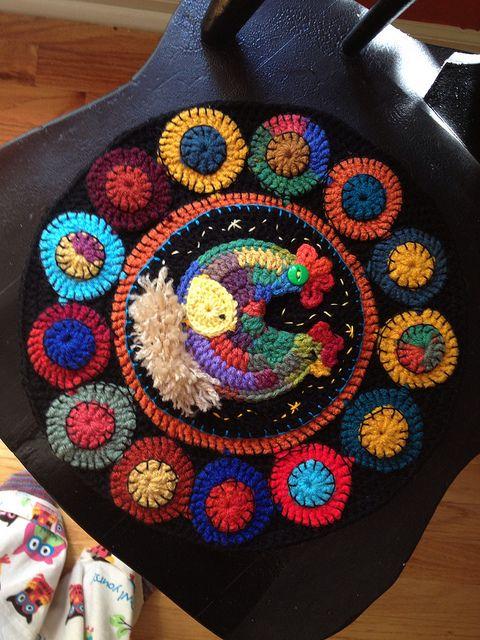 Crochet Penny Rug   Flickr - Photo Sharing!