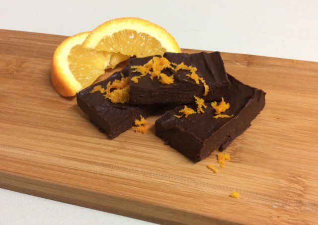 Lose Baby Weight's Healthy Choc Orange Fudge