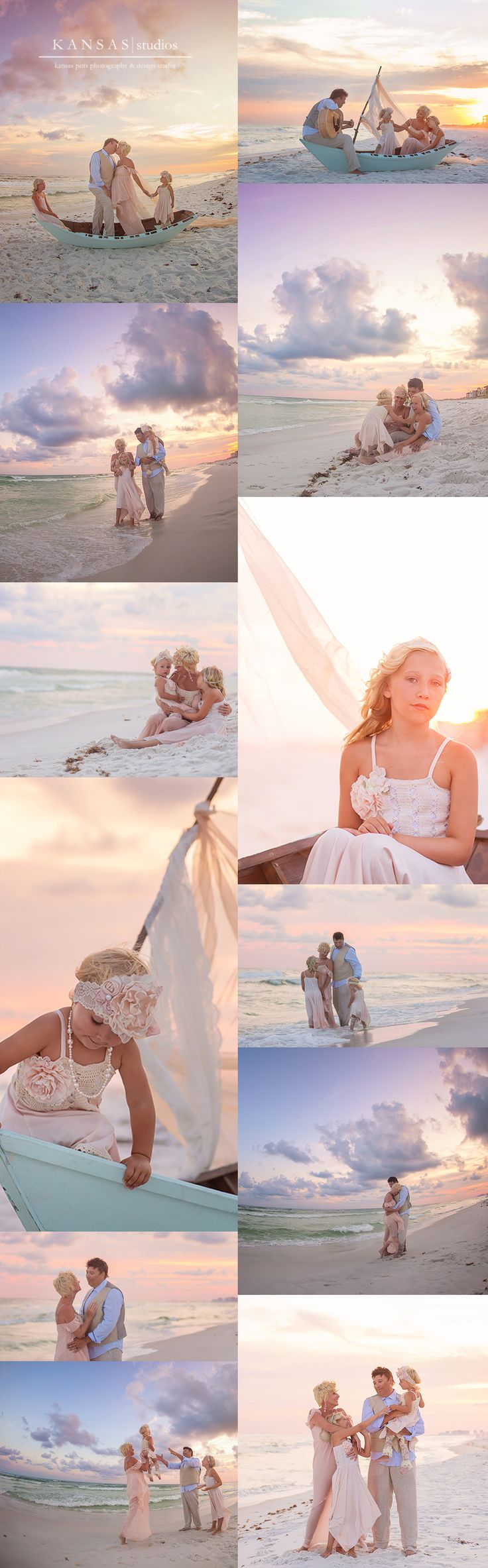 the mitchell family   dreamboat beach session on 30-a {styled santa rosa beach session}